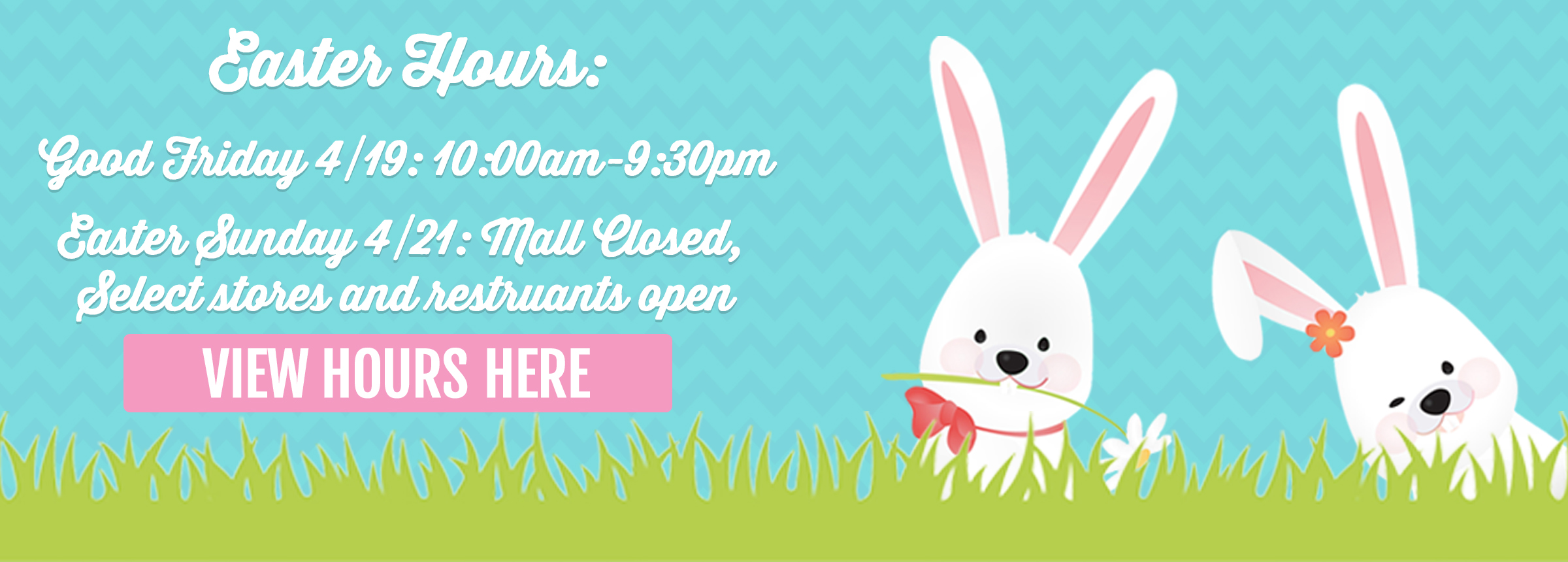 2019 Easter Hours Hero Image 2400x860