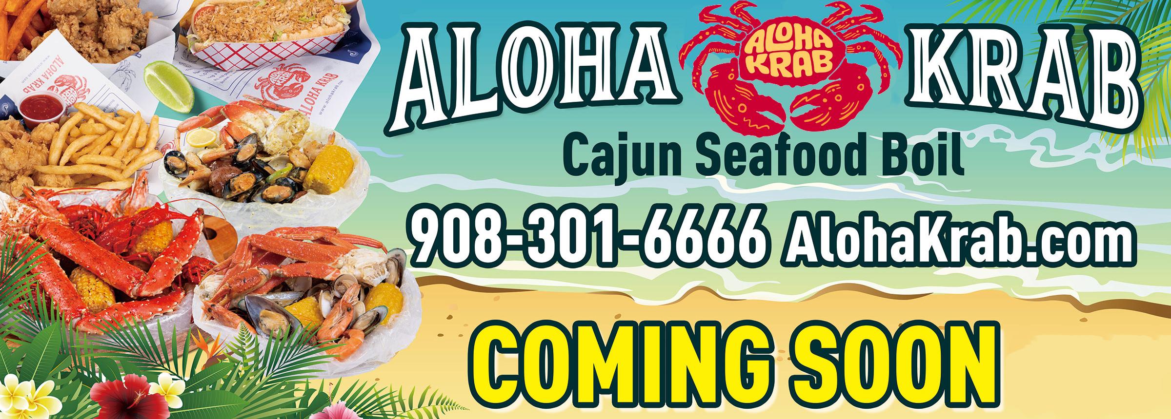 Aloha Krab Hero Image Coming Soon