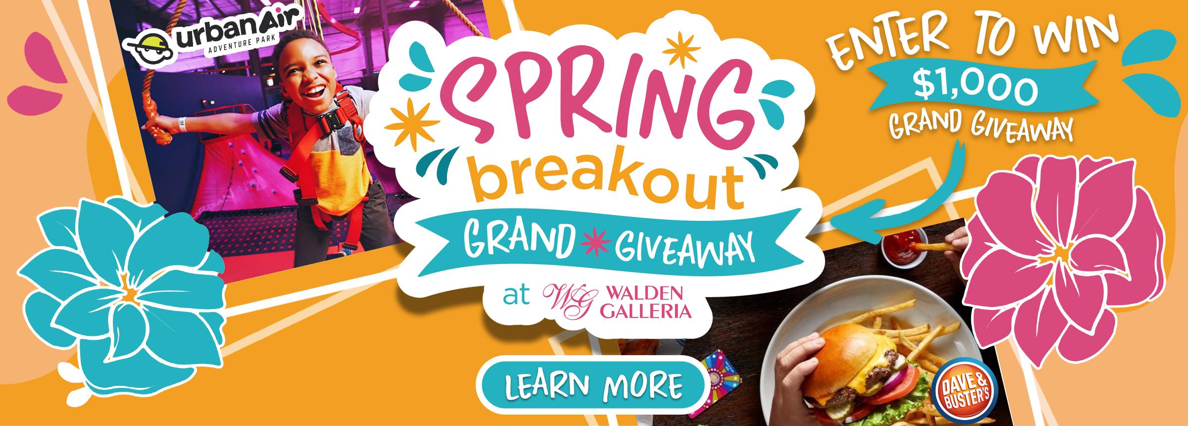 Spring Breakout Hero Image