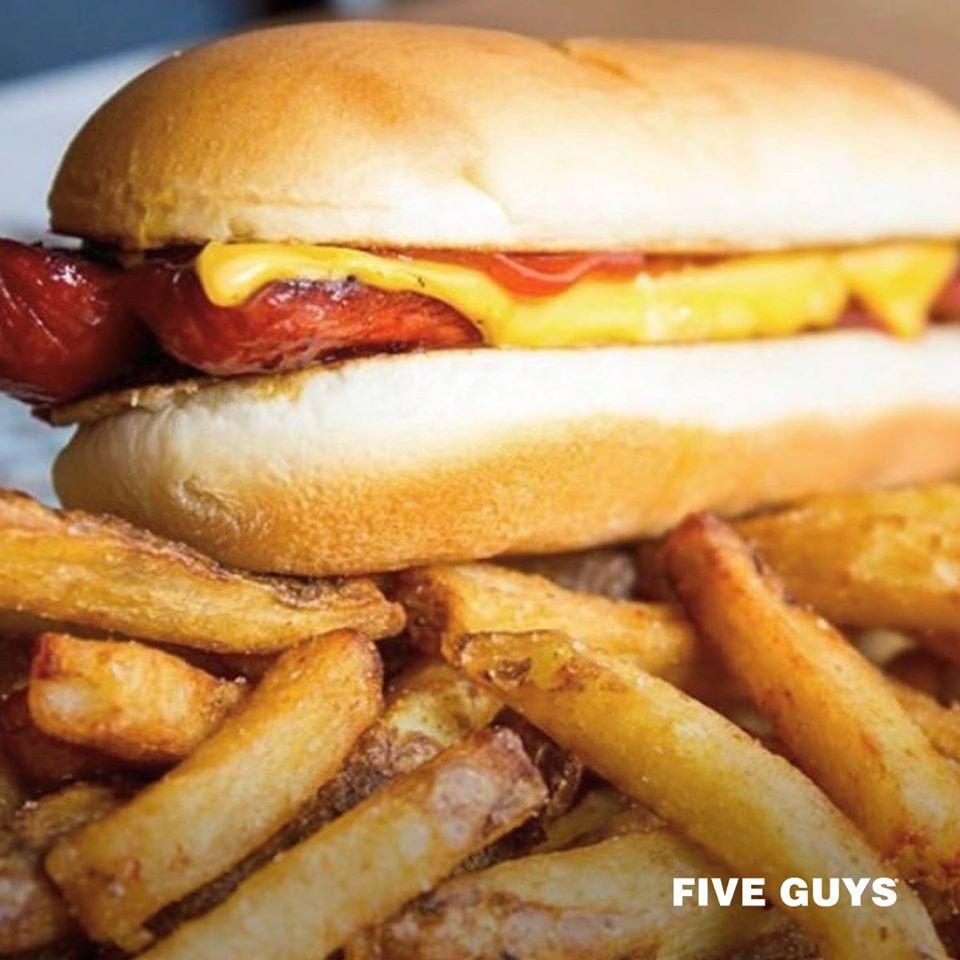 Five Guys Hotdog