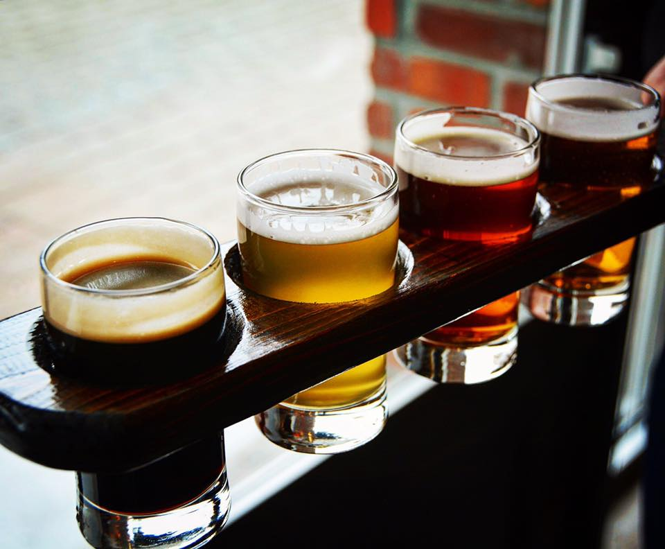 WOB Beer Flight Image