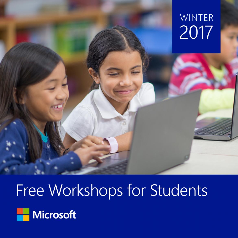 Microsoft_Workshops for Students_SM Post