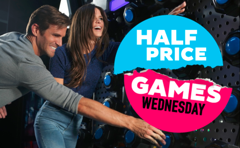 Dave & Busters_Half Price Games