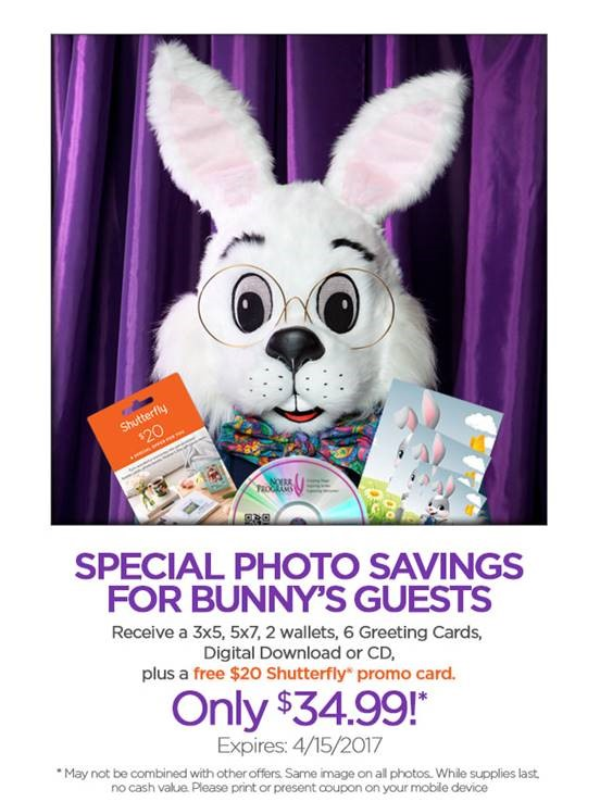 Visit the easter bunny walden galleria for Call the easter bunny phone number