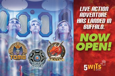 5WITS - Live Action Adventure Has Landed in Buffalo! Now Open!