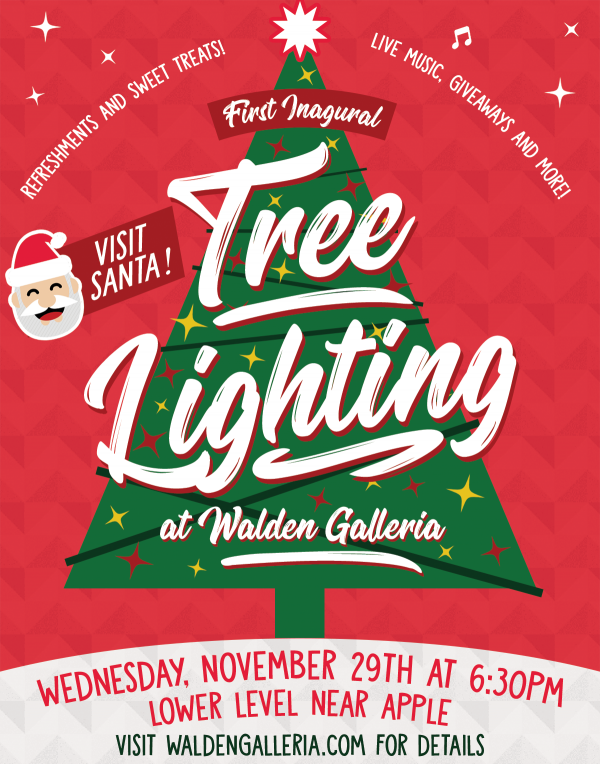 First Inaugural Tree Lighting