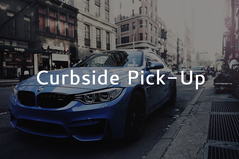 Curbside Pick Up Website Ad