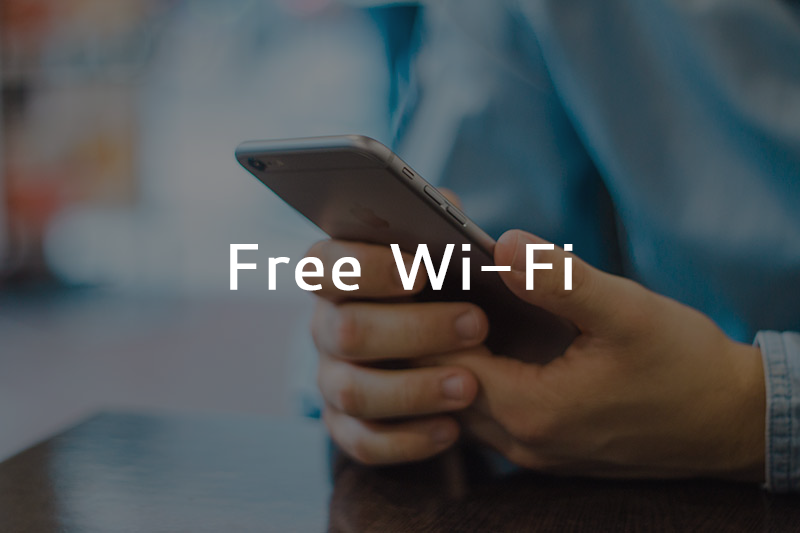 Free WiFi-Website Ad