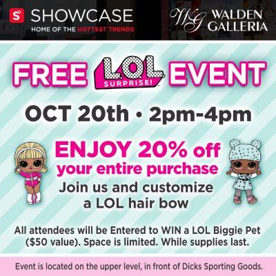LOL Doll Event - Walden Galleria