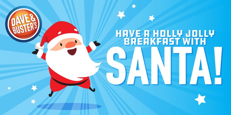 Breakfast with Santa_Dave & Buster's 2018