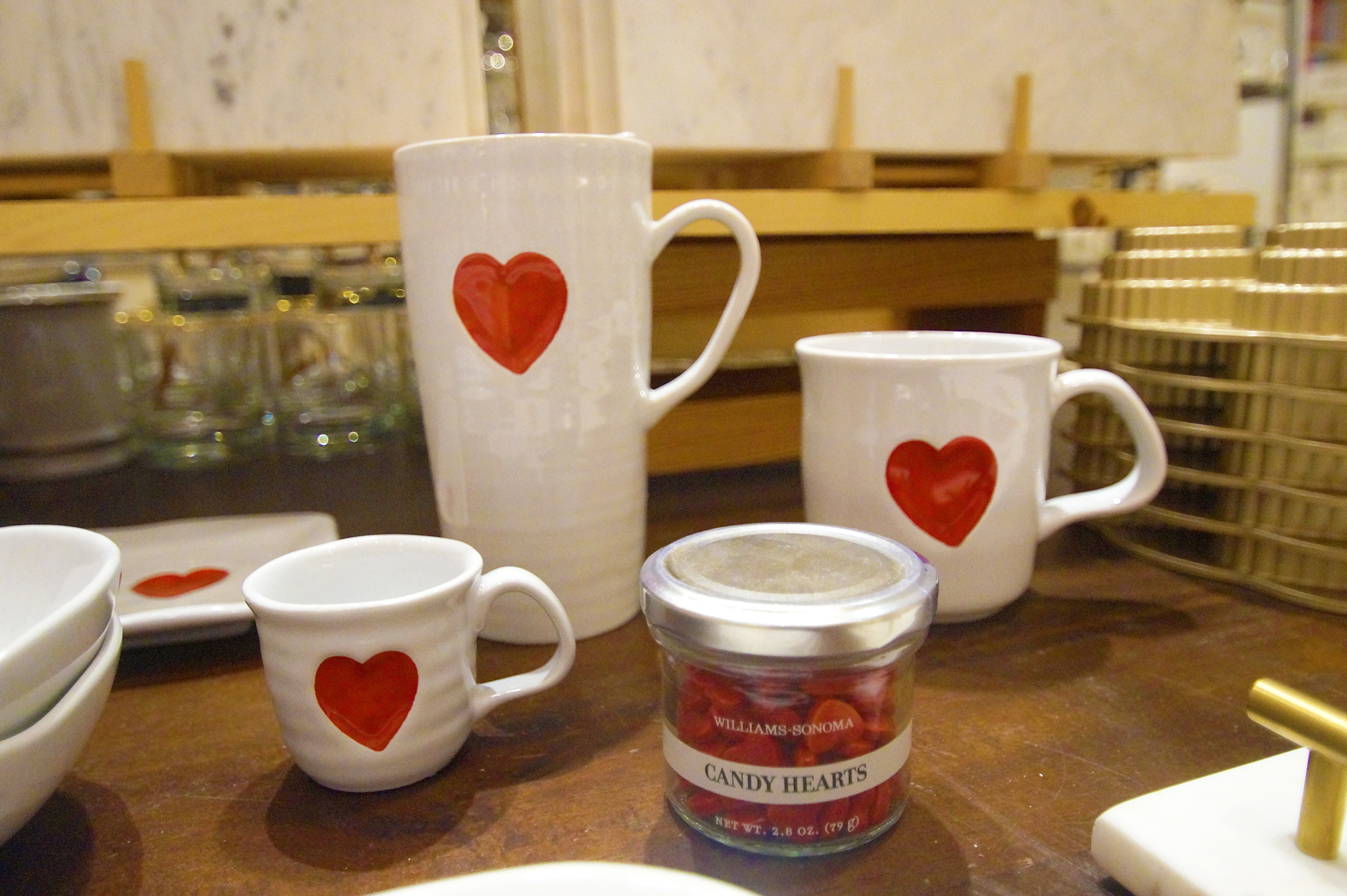 williams sonoma heart kitchenware