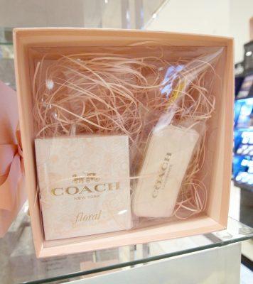 macys coach floral perfume set