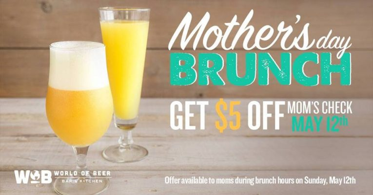 world of beer mothers day brunch 2019