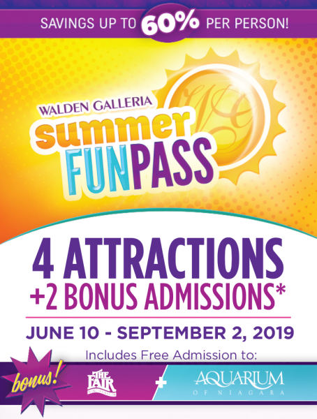 Summer Fun Pass Rack Card Front