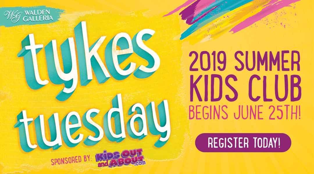 Tykes Tuesday Summer Kids Club 2019 Blog Post Image