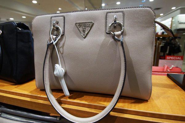 macys guess purse