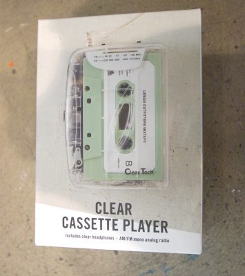 urban outfitters cassette player
