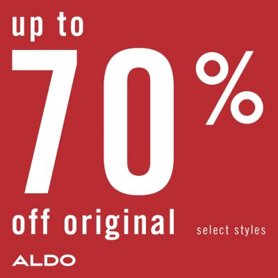 ALDO End of Season Sale Up to 70 off 1080x1080 EN
