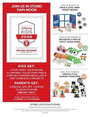 Kid zone Flyer