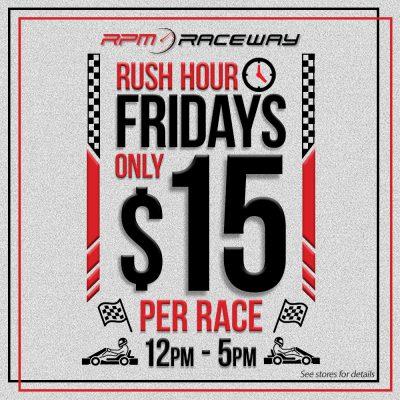 Social Rush Fridays 15dollars white
