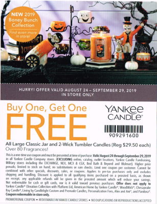 yankee candle coupon 8 20 19