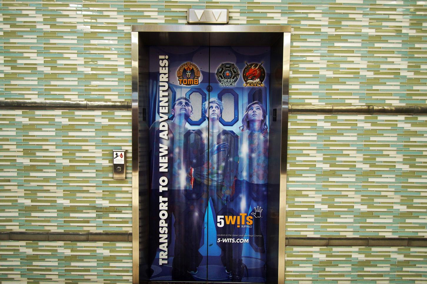 WG Elevator Doors Exterior near DSG 1