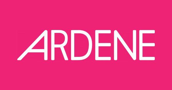 Ardene logo pink box