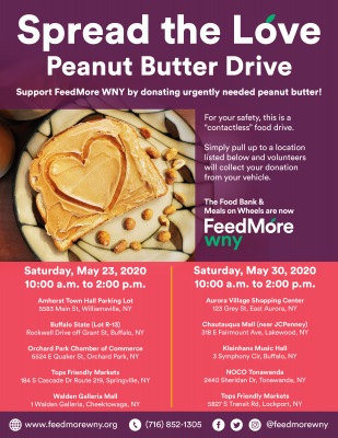 Peanut Butter Drive 2020 Flyer CORRECT