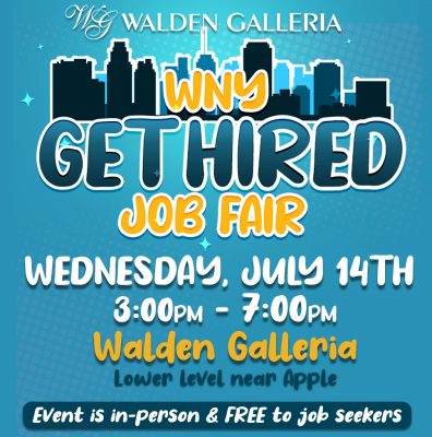 WNY Get Hired Job Fair Event Poster Square 1