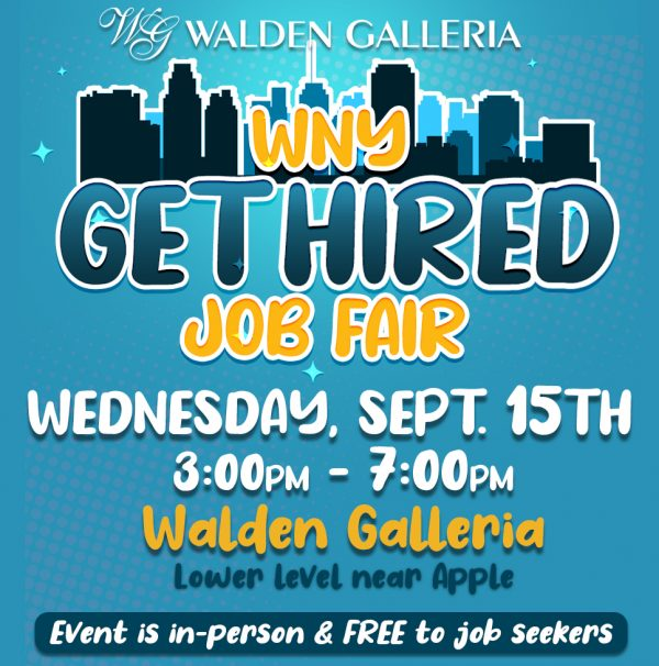 WNY Get Hired Job Fair Sep 2021 Event Poster Square