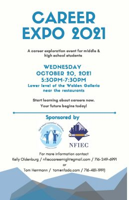Career Expo 2021 Flyer with Info