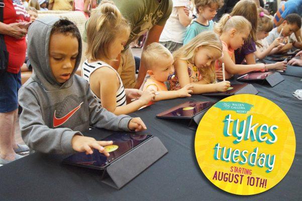 Tykes Tuesday Organic Social Ad