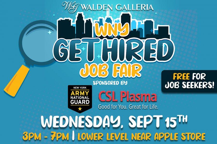 WNY Get Hired Job Fair LinkedIn Ad